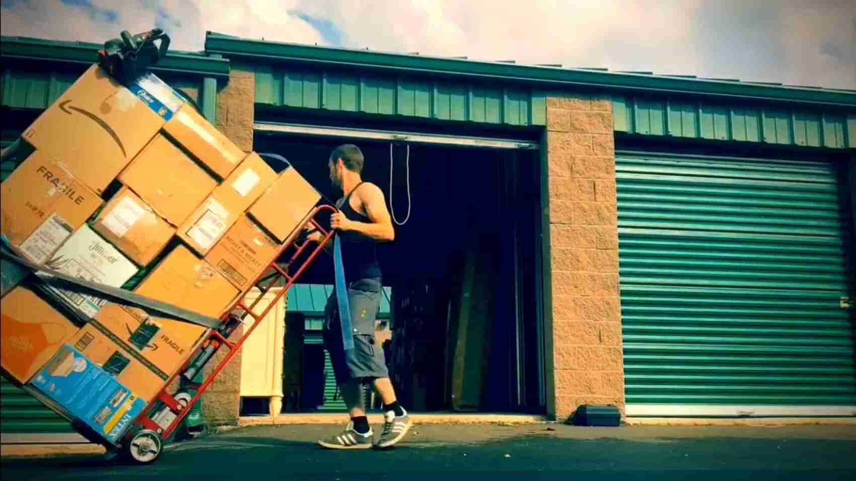 book move helpers to load and unload a truck