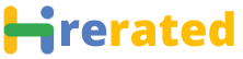 hirerated Logo